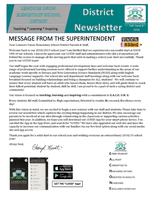 District Fall Newsletter