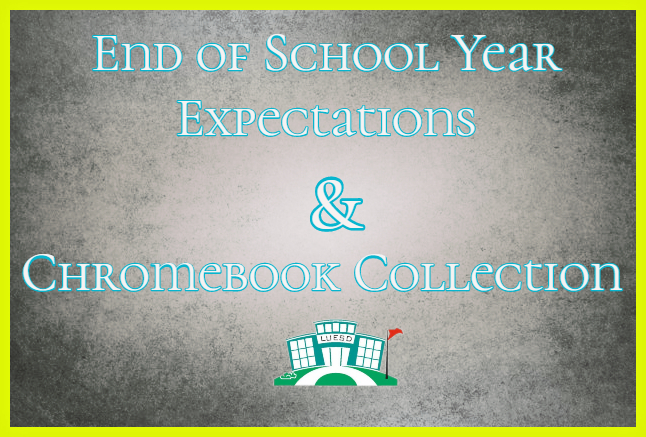 Chromebook Collection/End of Year Expectation