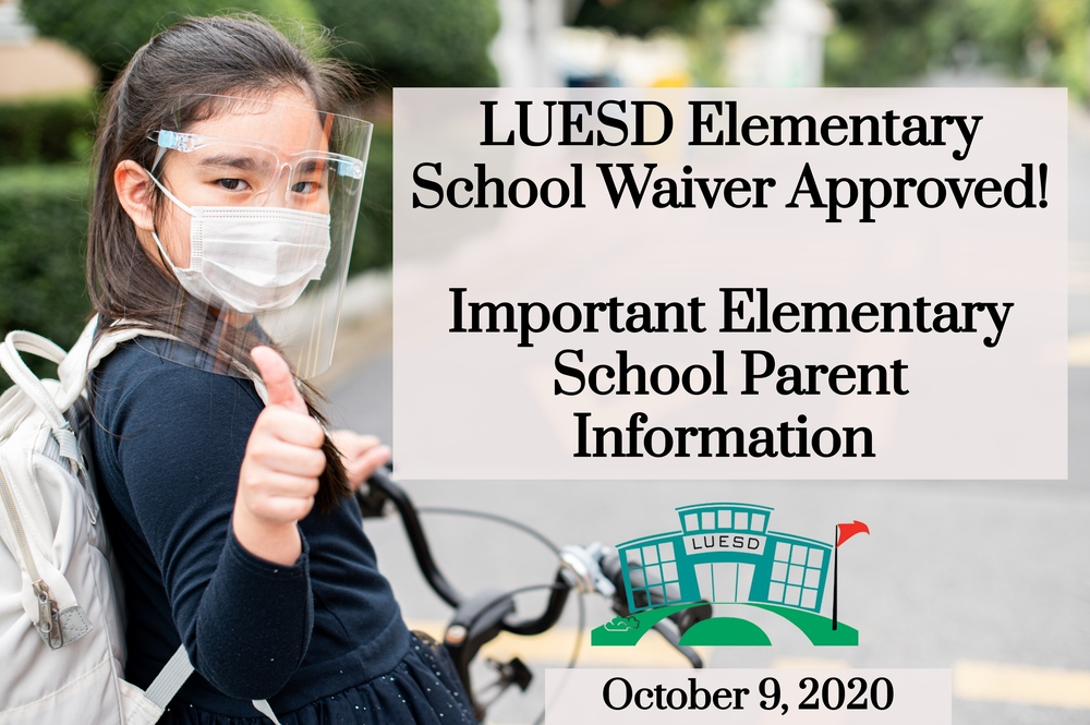 October 9, 2020 Parent Communication