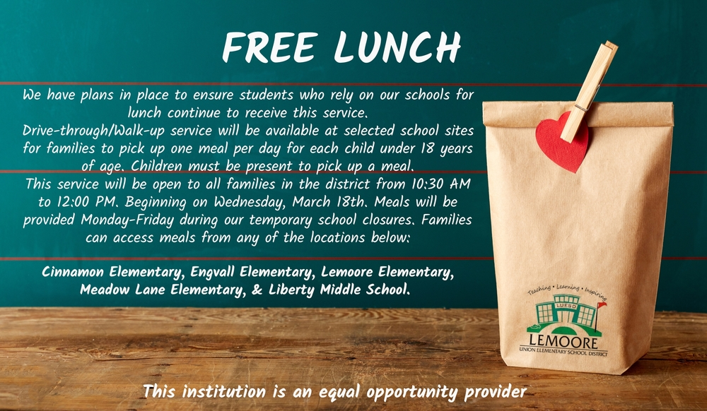 Free Lunch/Lonche Gratis