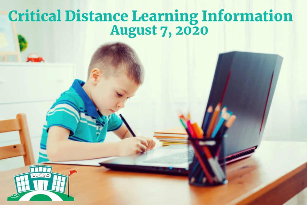 Critical Distance Learning Information