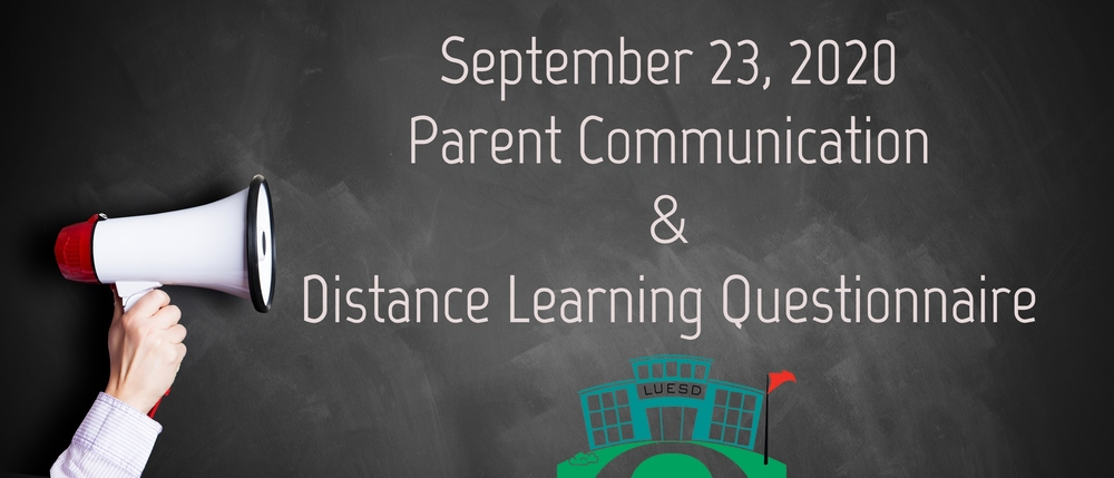 September 23, 2020 Parent Communication