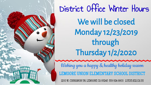 DO Winter Hours