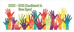 2020-2021 school enrollment begins February 1st