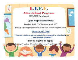 L.I.F.E. Program Enrollment