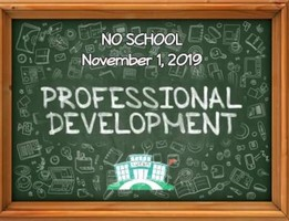 No School Friday, November 1, 2019