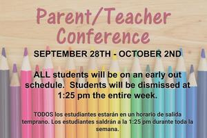 Parent Conferences - Reminder