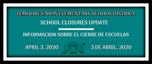 04032020 School Closure Update