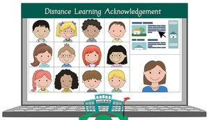 Distance Learning Acknowledgement