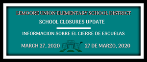 03 27 20 School Closure Update