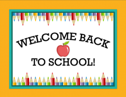 Welcome Back 2nd-6th Grade Students