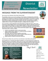 DISTRICT NOVEMBER NEWSLETTER