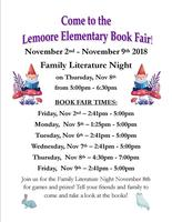 Join us for the Lemoore Elementary Book Fair!