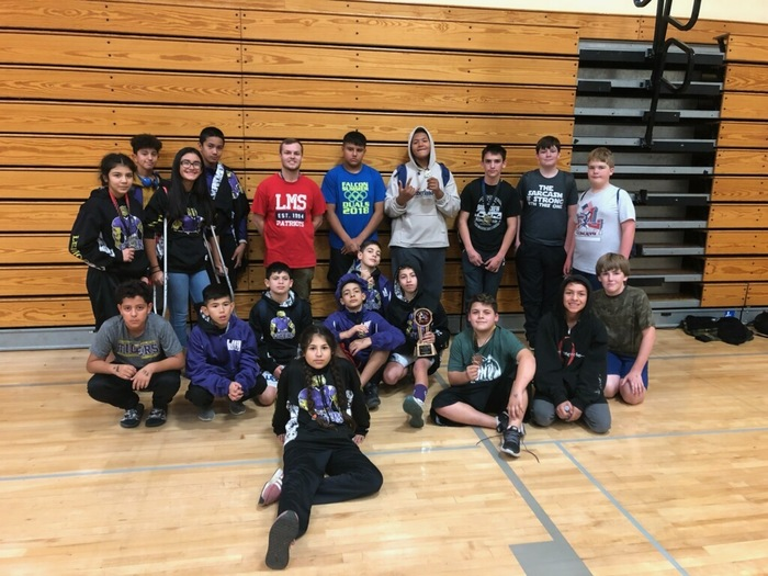 Wrestling Team 2nd Place Exeter Invitational