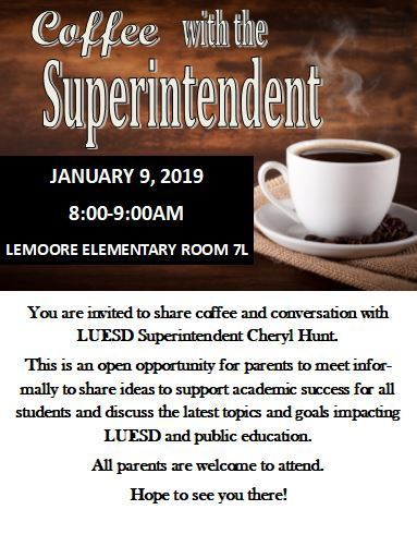 Coffee with Supt.