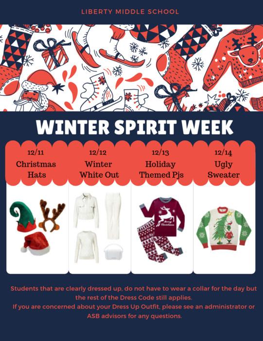 Winter Dress up days