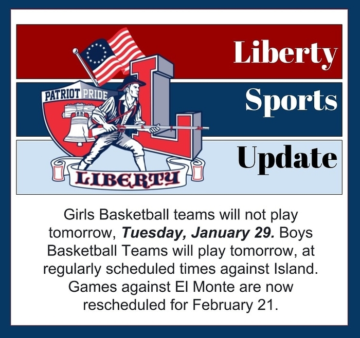 girls basketball canceled tomorrow