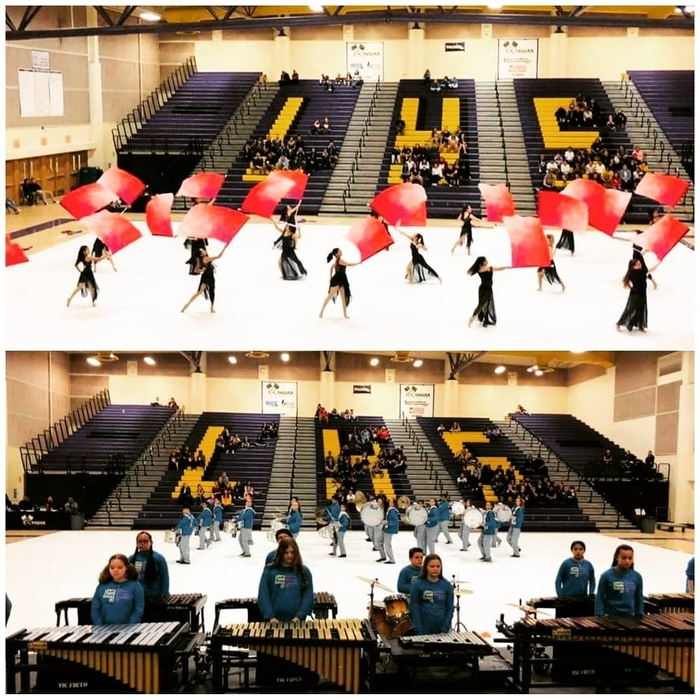 percussion and guard 3/16
