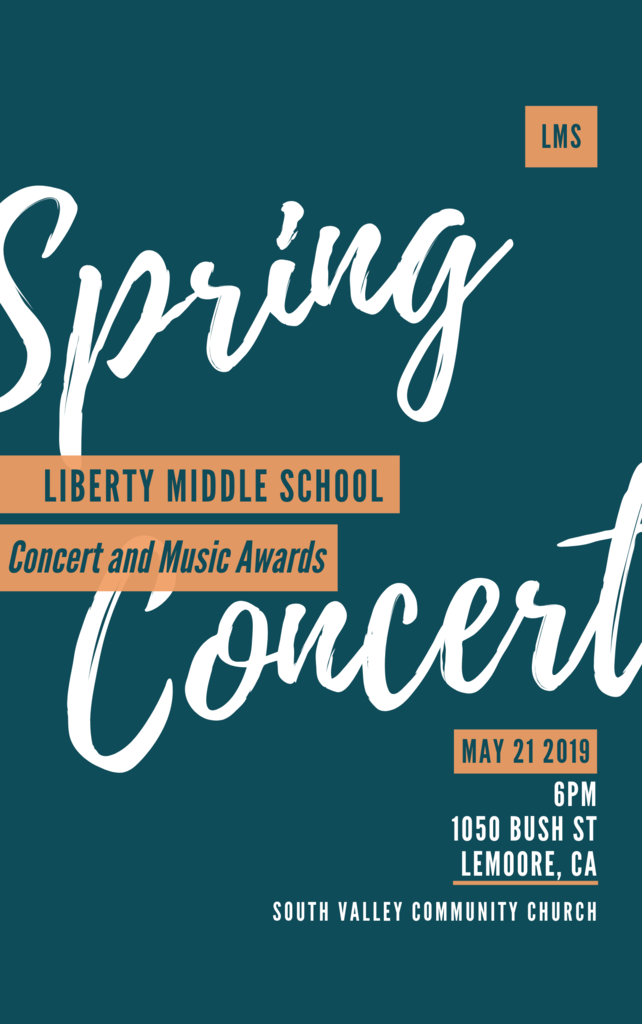 Spring Concert 5/21 South Valley Church 6pm