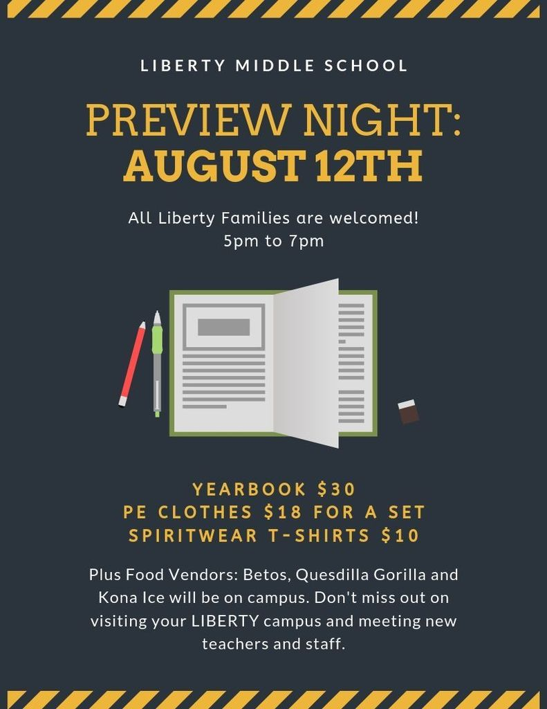 Preview Night 8/12