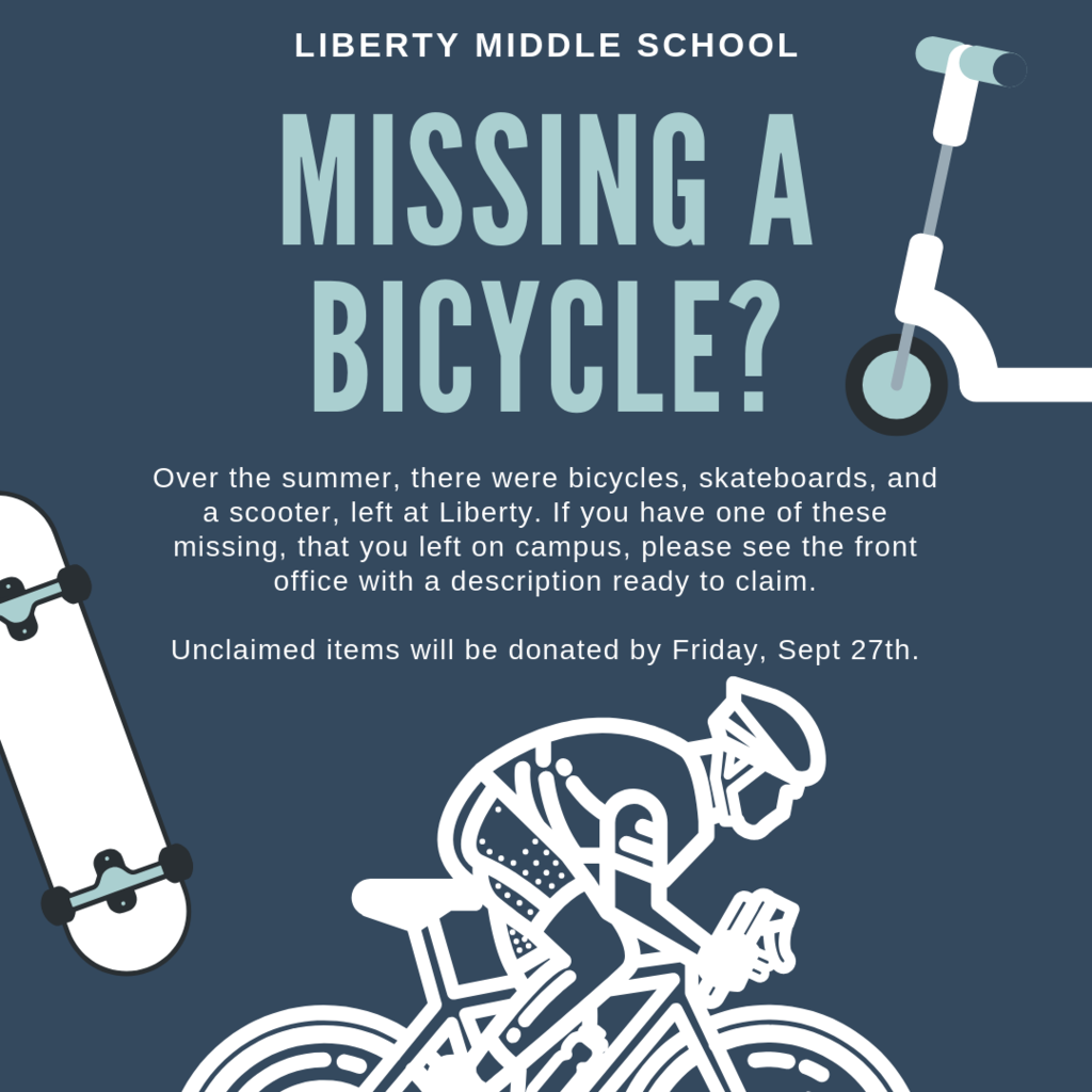 Claim your old bike, skateboard or scooter by 9/27