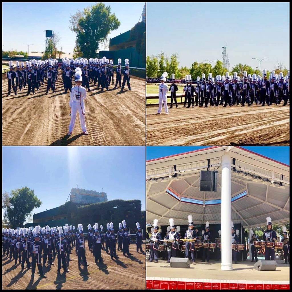 Fresno fair Marching Band