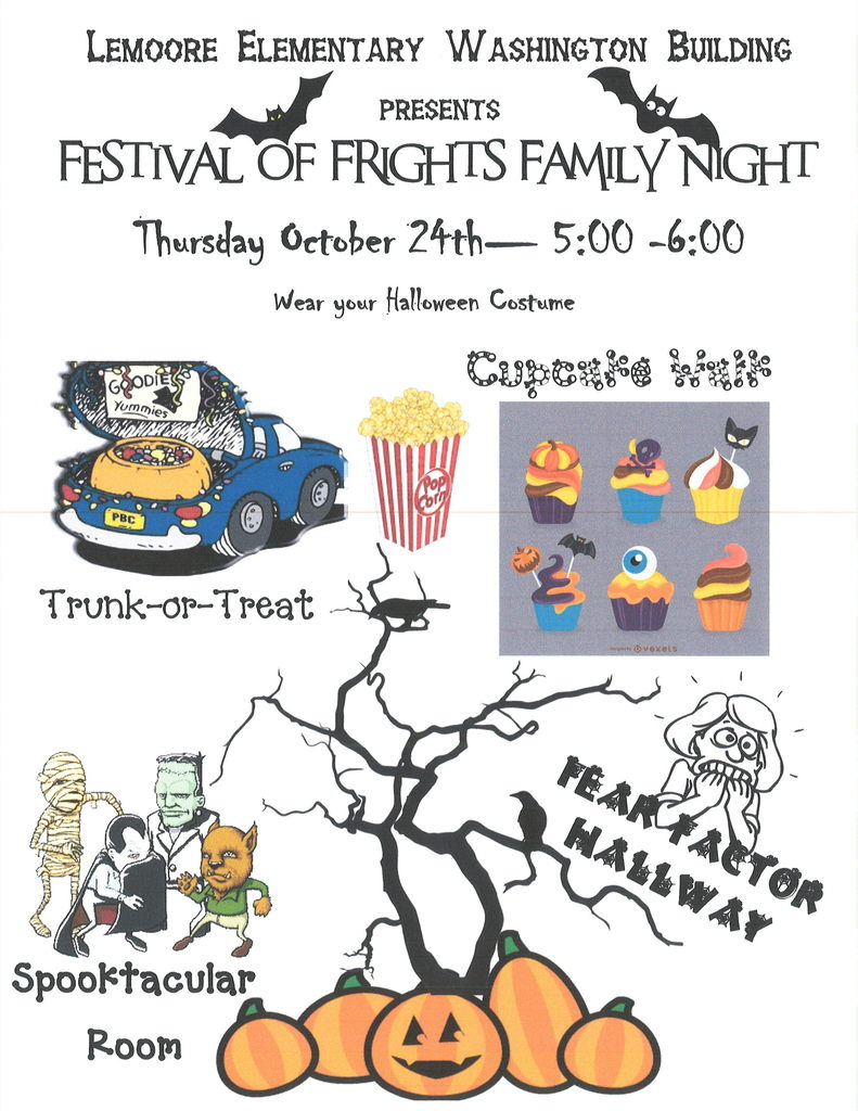 Festival of Frights Family Night