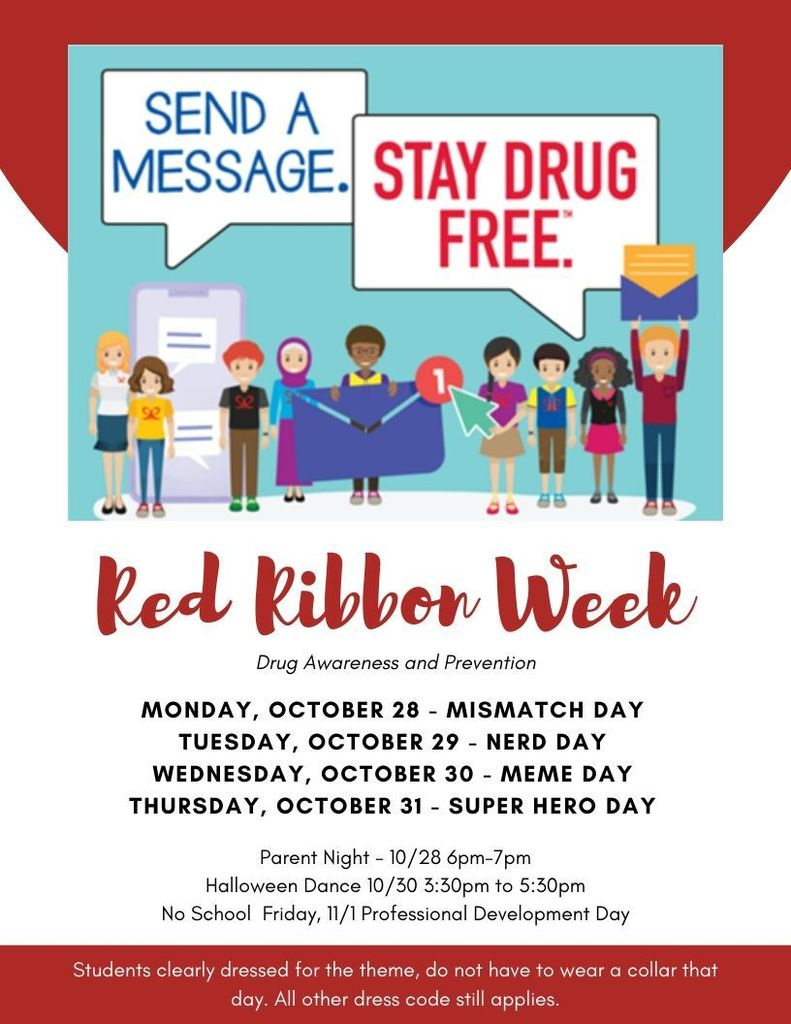 Read Ribbon week 10/28-10/31