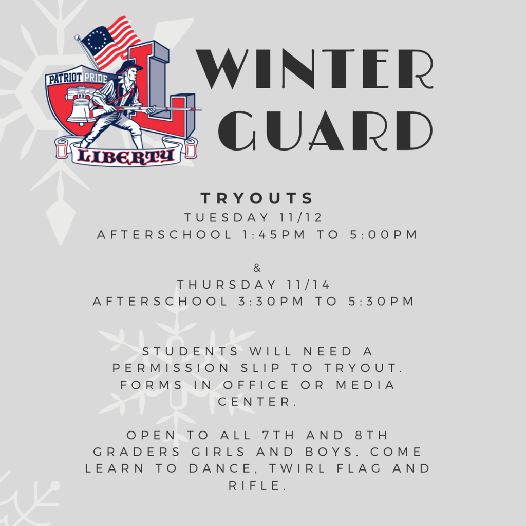 Winter Guard Tryouts