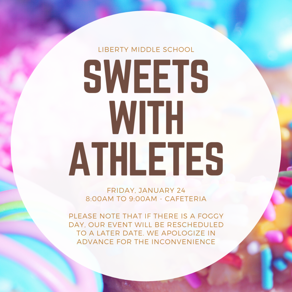 Sweets with athletes 1/24