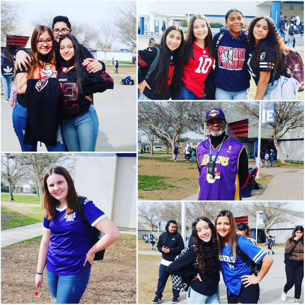 sports Jersey Day at Liberty 1/31/20