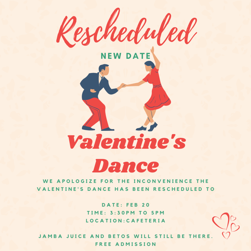 valentine's dance new date 2/20
