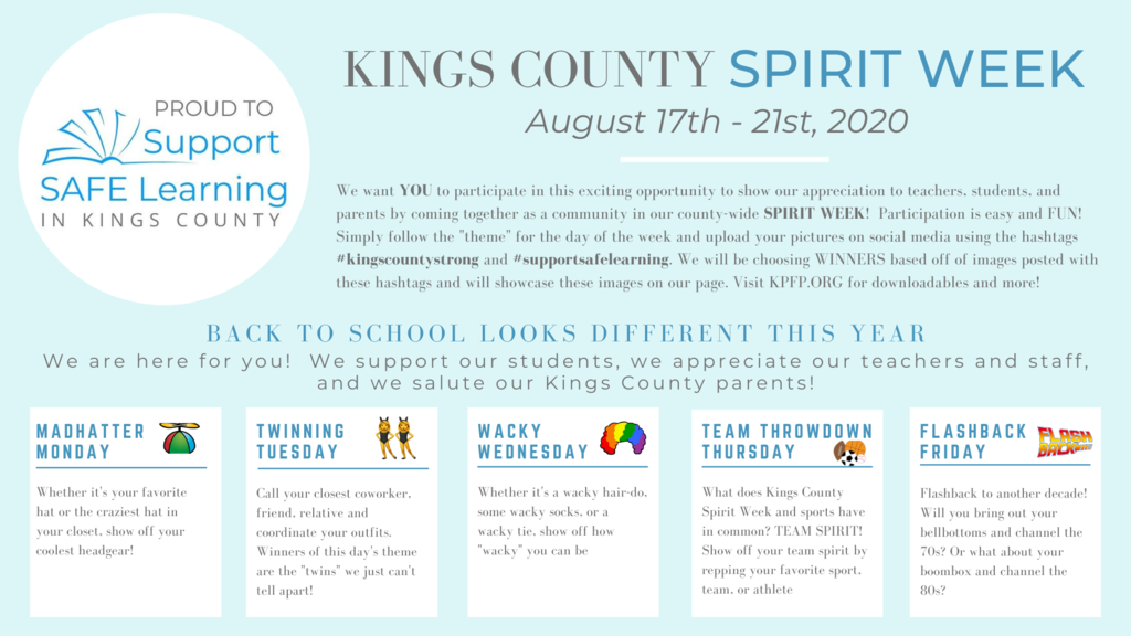 kc spirit week