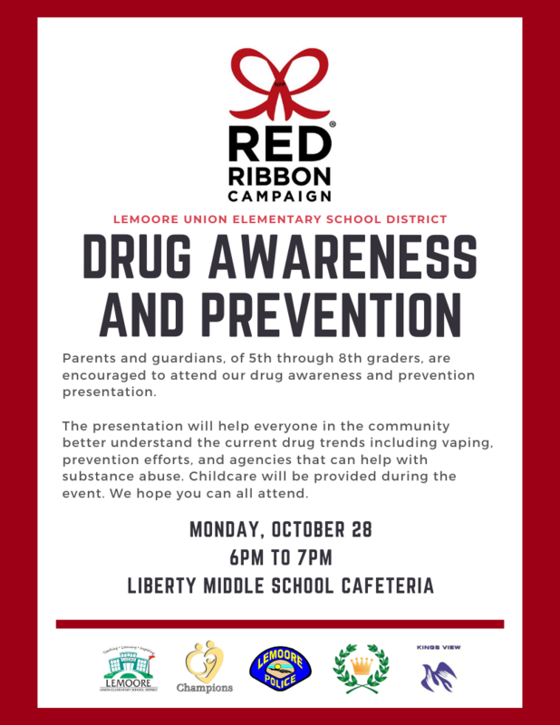 Parent Night: Drug Awareness and Prevention